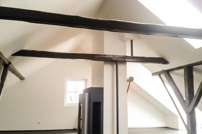 Dachgeschoss nach Ausbau durch Firma GIPSTEC Villach