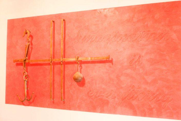 Spachteltechnik Gipstec Orhan in rot