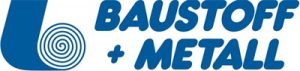Logo der Firma baustoff+metall